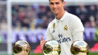 Cristiano Ronaldo şi trofeele sale