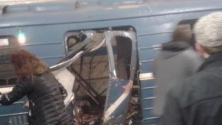 Explozie nimicitoare la metrou, în St. Petersburg. Mai mulți morţi şi răniţi