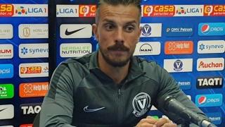 """Ruben de la Barrera, manager Viitorul: """"Cu siguranţă, am fi meritat să câştigăm"""""""
