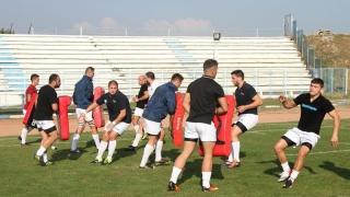 Rugbyștii de la CS Năvodari, din nou la antrenamente