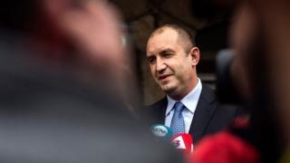 Rumen Radev a fost învestit oficial președinte al Bulgariei