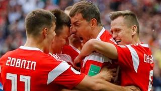Rusia a pornit ca un tăvălug la Cupa Mondială