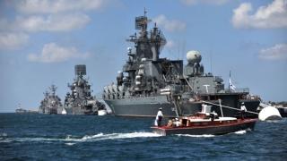Rusia a început manevre navale în estul Mării Mediterane