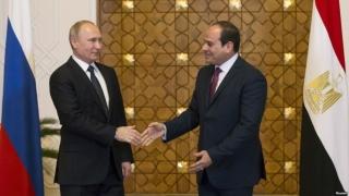 """Rușii trimit """"ajutor"""" nuclear în Egipt"""