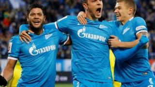 Zenit Sankt Petersburg a urcat pe primul loc în campionatul Rusiei