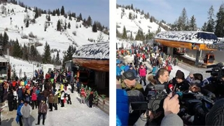 S-a INAUGURAT una dintre cele mai mari pârtii de schi din România!