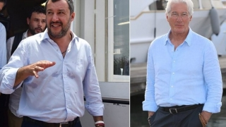 Matteo Salvini îl invită pe Richard Gere să-i ia pe migranți la Hollywood