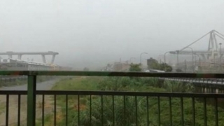 Pod prăbușit în Italia! Cel puțin 10 morți