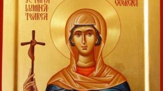Sfânta Nina, rudă apropiată a Sfântului Mare Mucenic Gheorghe
