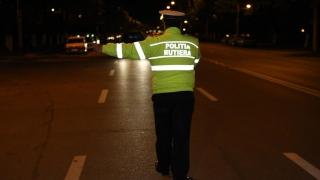 Șase șoferi beți prinși în weekend de polițiști