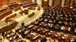 Scandal și amenințări în Parlamentul României
