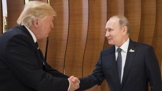 Schimb de mulțumiri între Trump și Putin