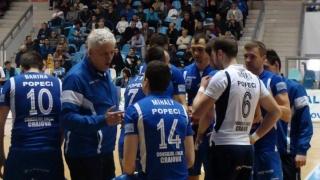 SCM U. Craiova s-a calificat în finala campionatului masculin de volei