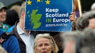 Parlamentul Scoţiei susţine organizarea unui nou referendum privind independenţa faţă de M.Britanie