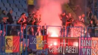 Suporterii români, implicați în incidente cu organizatorii la meciul cu Armenia