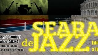 """""""Seară de Jazz"""" revine pe faleza Cazinoului"""