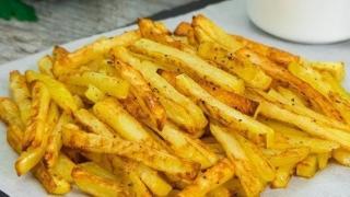 Secretul unor cartofi prăjiți DELICIOȘI
