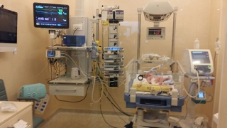 Prima etapă a renovării Secției de terapie intensivă nou-născuți Constanța, la final!
