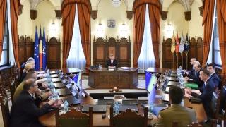 Planul de înzestrare a Armatei, analizat în ședinţa de marți a CSAT!