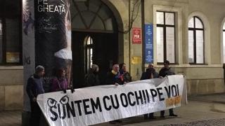 Sediul PSD din Cluj, vandalizat!
