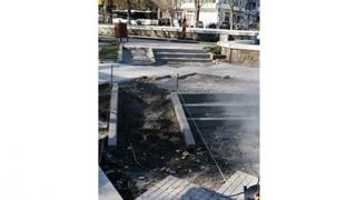 Se reabilitează jardinierele din municipiul Constanța