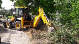 Se reabilitează străzile din cartierul Palazu Mare