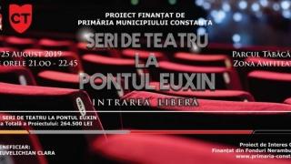 Seri de teatru la Pontul Euxin. Ce puteţi urmări în fiecare seară la scena din Amfiteatru