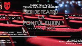 """""""Seri de teatru la Pontul Euxin"""" continuă, săptămâna aceasta, cu trei comedii celebre"""