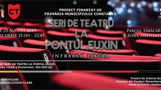 """""""Seri de teatru la Pontul Euxin"""" continuă să ofere experiențe de neuitat"""