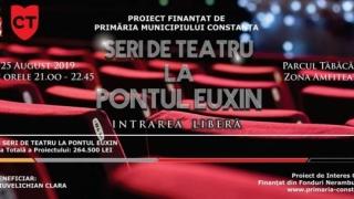 """""""Viața și pătimirile lui Publius Ovidius Naso"""", un spectacol de zile mari, la """"Seri de teatru la Pontul Euxin"""""""