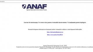 Serverele ANAF au CEDAT! Site-ul oficial a PICAT
