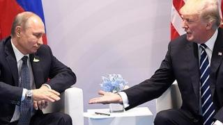 Vladimir Putin și Donald Trump - față în față, la Paris