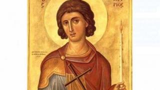 Hram la Biserica Greacă. Se serbează un sfânt făcător de minuni!