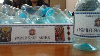 Pregătiri pentru Bobotează: apa sfinţită, oferită credincioşilor în 200.000 de sticle