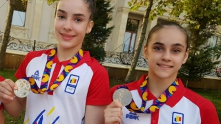 Gimnastele constănţene Ioana Stănciulescu şi Silvia Sfiringu, medalii de bronz la FOTE