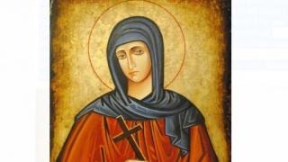 Sfânta Cuvioasă Teodora de la Sihla