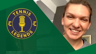 "Simona Halep, invitata emisiunii ""Tennis Legends"""