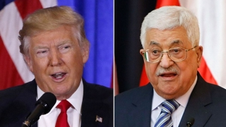 Donald Trump a discutat cu Mahmoud Abbas şi l-a invitat la Washington