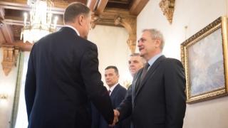 Klaus Iohannis a bătut palma cu Liviu Dragnea în privinţa SIE