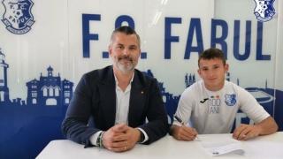 Un internaţional U18 la FC Farul