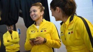 Halep aduce primul punct României în semifinala cu Franţa, din FED Cup