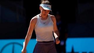 Simona Halep, dezamăgită după înfrângerea cu Anisimova