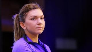 Simona Halep este mulțumită de evoluția ei din meciul cu Caroline Garcia