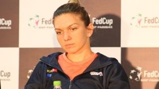 Simona Halep se gândește la întâlnirea din FED Cup