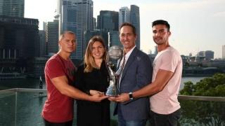 """Simona Halep, prima jucătoare care a primit trofeul """"Chris Evert"""""""