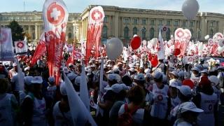 10.000 de membri SANITAS i-au cerut Guvernului să nu le ignore problemele