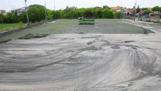 Lucrări de reamenajare la terenul sintetic din Complexul Sportiv din strada Primăverii