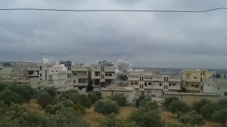 Un avion de luptă a bombardat un oraș sirian după atacul lansat de SUA
