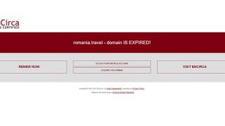 Site-ul oficial de turism al României, închis pentru neplată