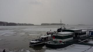 Transportul naval pe traseul Tulcea-Sulina revine la normal